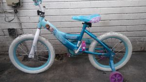 Frozen bike with traing wheels.EOC for Sale in Nashville, TN
