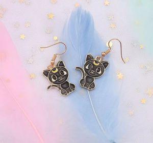 Sailor moon/ luna cat earrings for Sale in Phoenix, AZ