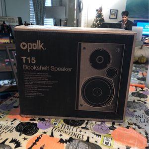 Polk Bookshelf Speakers for Sale in Oxnard, CA