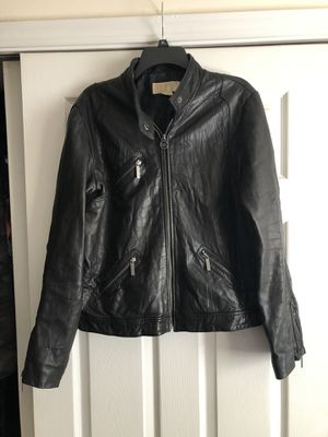 Michael Kors Leather Jacket for Sale in East Aurora, NY