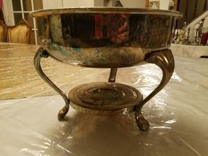 Silver Plated Chafing Dish for Sale in Queens, NY