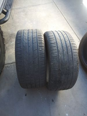275 40 20 tires (2) for Sale in San Fernando, CA