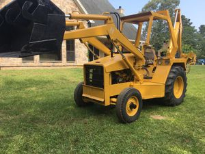 Diesel backhoe. Drives great for Sale in Hockley, TX