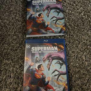 Superman: Man Of Tomorrow Blu-ray + DVD (no digital code) for Sale in Fresno, CA