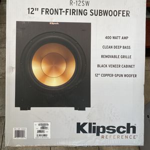 Klipsch R-12sw Subwoofer for Sale in Los Angeles, CA