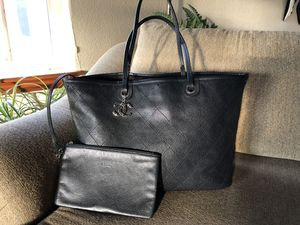 Chanel Black Caviar Shopping Fever Tote - large for Sale in Thornton, CO