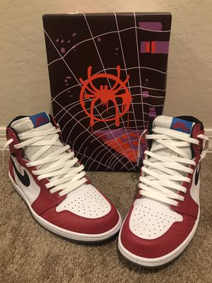 "Air Jordan 1 Retro High ""Spider-Man Origin Story"" 2018 for Sale in Phoenix, AZ"