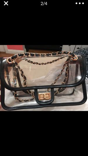 PVC Crossbody Chanel Style Bag for Sale in West Covina, CA
