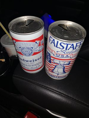 Old Budweiser, Falstaff Beer Cans for sale. for Sale in Affton, MO