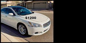 Price$1200 Nissan Maxima for Sale in San Antonio, TX