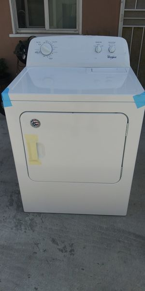 whirlpool Model :W11185731kB Electric dryer ( PLEASE READ DESCRIPTION) for Sale in Gardena, CA
