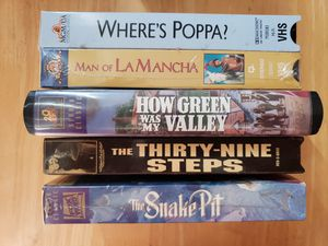 5 VHS TAPES..THE SNAKE PIT& MORE for Sale in Orange, CA