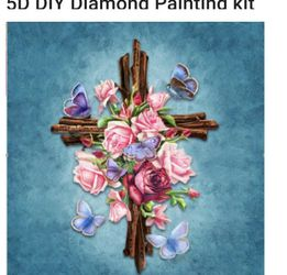 5d Diamond Art 💎Paintings Kit New In Package Everything You Need for Sale in Woodburn,  OR