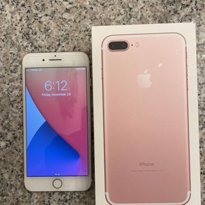 T-Mobile/MetroPCS iPhone 7 Plus 32 GB in Rose Gold for Sale in Upland, CA