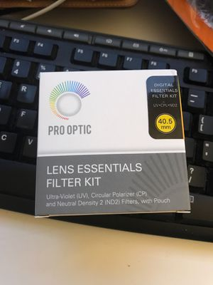 Pro optic lens essentials filter kit for Sale in Foster City, CA