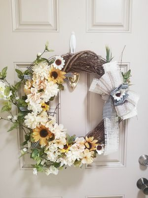 Handmade fall wreath for Sale in Garden Grove, CA