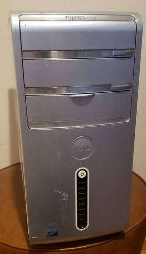 Dell Inspiron 530 Intel Core 2 Duo 2.53Ghz 500GB Win 10 Desktop Computer PC for Sale in Brooklyn, NY