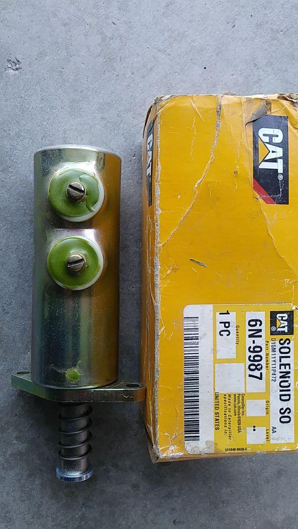 Cat Solenoid, part#6N-9987. 3208 engine