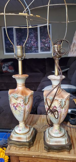 Very old lamps for Sale in Hayward, CA