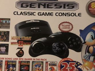 Genesis Console + TV For Sale for Sale in San Mateo,  CA