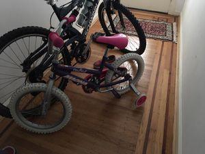 Adult bike and kids bike for Sale in San Francisco, CA
