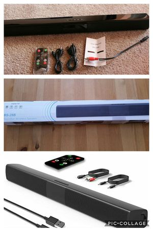 Bluetooth Sound Bar, Portable Soundbar - New, Never Used for Sale in Phoenix, AZ