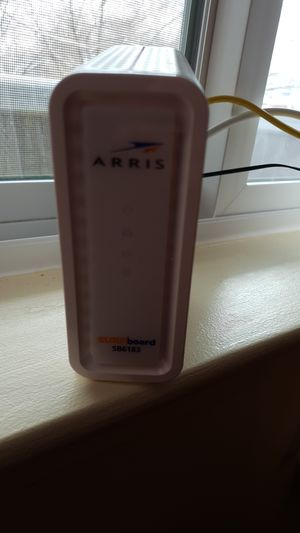 Netgear router and Arris modem for Sale in Germantown, MD