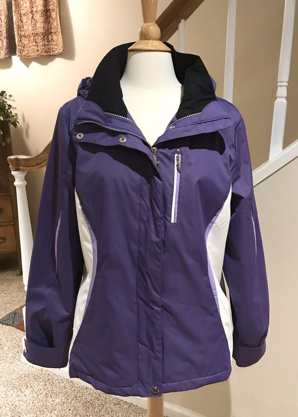 Women's ZeroXposur Winter Ski Snowboard Jacket Purple Size Large