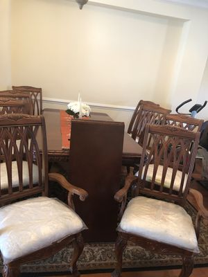 Formal Dinner Table Set with China Cabinet for Sale in Ashburn, VA