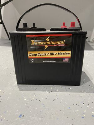 Transcontinental Battery deep cycle / marine / RV for Sale in Macomb, MI