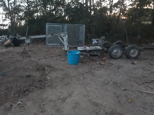 28 foot fifth wheel flatbed trailer for Sale in Pendleton, KY