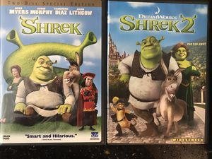 Shrek DVD Collection for Sale in West Covina, CA