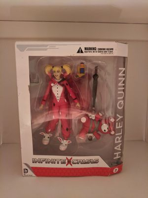 Infinite Crisis Pajama Party Harley Quinn Action Figure DC COLLECTABLES 2 for Sale in St. Petersburg, FL