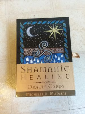 Shamanic Healing Oracle Cards by Michelle A. Motuzas (2016, Mixed Media). for Sale in Hyattsville, MD