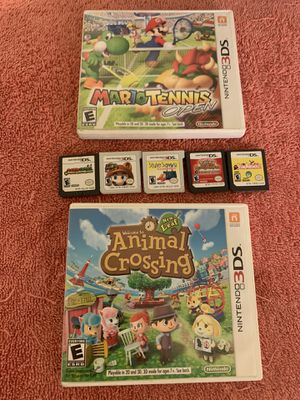 NINTENDO DS & 3DS GAMES SELL OR TRADE FOR NINTENDO SWITCH GAMES for Sale in Moreno Valley, CA