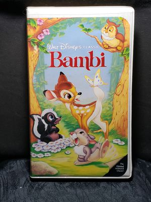 Walt Disney Classic Bambi Vhs for Sale in Zanesville, OH