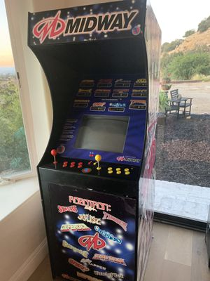 Midway arcade game machine have your own arcade for Sale in Shadow Hills, CA