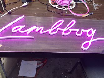 Hand made custom neon sign , wedding sign, event supply, room decorations, gifts. Bride Party,Birthday party business Channel Letters for Sale in Concord,  CA
