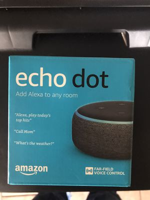 Echo Dot and Charging station for Sale in Ore City, TX