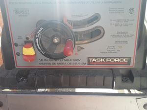 Task force table saw for Sale in Las Vegas, NV