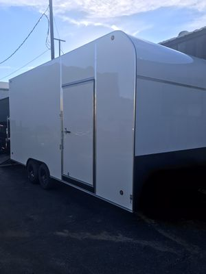Brand new 8.5x24x8 enclosed trailers for Sale in Rancho Cucamonga, CA
