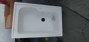 Dual Mount 33Lx22Wx10.5D Single Bowl for Sale in Fontana, CA