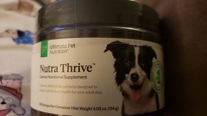 Nutra Thrive for dogs for Sale in Hayward, CA