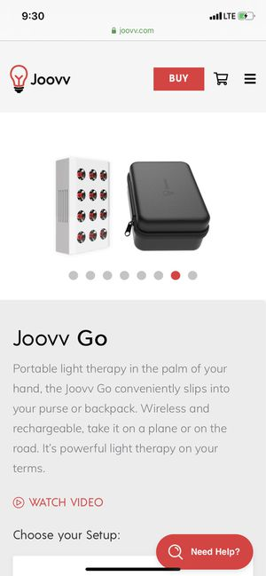 Joovv Go Red-light Therapy for Sale in Seattle, WA