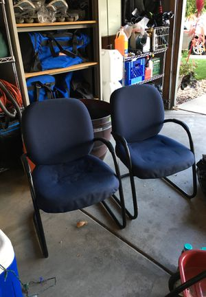 2 blue chairs for Sale in Arvada, CO