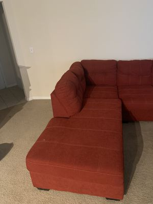 Red Sectional Couch for Sale in Austin, TX