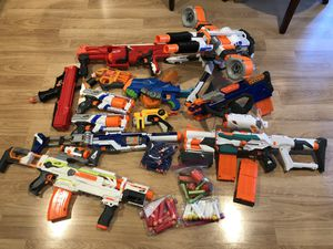 12 Nerf Guns for Sale in Citrus Heights, CA