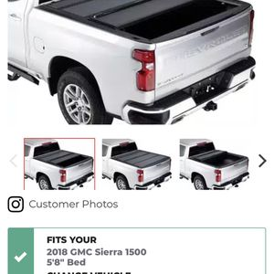 Tonneau Cover For 2018 GMC Sierra or Chevy Silverado for Sale in Port Orchard, WA