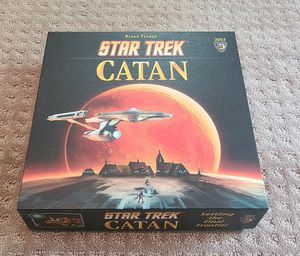 Star Trek Settlers of Catan board game for Sale in Libertyville, IL