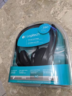 Brand new Logitech h390 stereo USB headset for Sale in Port Richey, FL